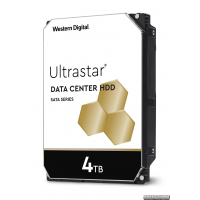 """Жесткий диск Western Digital Ultrastar DC HC310 3.5"""" 4TB 7200rpm 256MB HUS726T4TALE6L4_0B36040 3.5"""" SATA"""