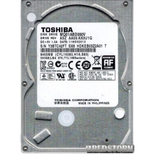 TOSHIBA 500GB 5400rpm 8MB MQ01ABD050V 2.5 SATA II Refurbished