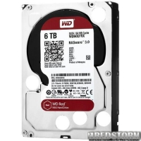 Western Digital Red 6TB 5400rpm 64MB WD60EFRX 3.5quot; SATA III