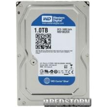 Жесткий диск Western Digital Blue 1TB 7200rpm 64MB WD10EZEX 3.5 SATA III