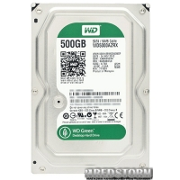 Western Digital Green 500GB 5400rpm 64МB WD5000AZRX 3.5 SATA III