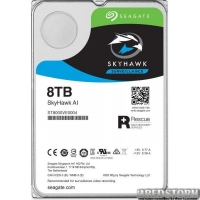 Жесткий диск Seagate SkyHawk AI Guardian Surveillance 8TB ST8000VE0004