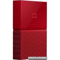 Жесткий диск Western Digital My Passport 3000GB Red (WDBYFT0030BRD-WESN)