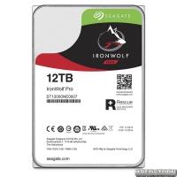 Накопитель HDD SATA 12.0TB Seagate IronWolf Pro NAS 7200rpm 256MB (ST12000NE0007)