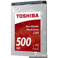 "Жесткий диск Toshiba Mobile L200 500GB 5400rpm 8MB HDWK105UZSVA 2.5"" SATAII"