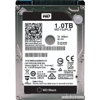 Western Digital Black 1TB 7200rpm 32MB WD10JPLX 2.5 SATA III