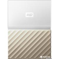 Жесткий диск Western Digital My Passport Ultra 4TB WDBFKT0040BGD-WESN 2.5 USB 3.0 External White-Gold