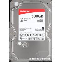 Toshiba P300 500GB 7200rpm 64MB HDWD105UZSVA 3.5 SATA III