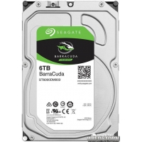 Seagate Barracuda 6TB 5400rpm 256MB ST6000DM003 3.5 SATAIII