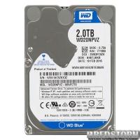 Western Digital Blue 2TB 5200rpm 8MB WD20NPVZ 2.5 SATA III
