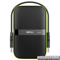 "Silicon Power Armor A60 2TB SP020TBPHDA60S3K 2.5"" USB 3.0 External Black"