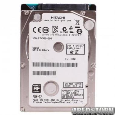 """Жесткий диск Hitachi (HGST) Travelstar Z5K500 500GB 5400rpm 8MB HTS545050A7E680_0J38065 2.5"""" SATA III"""