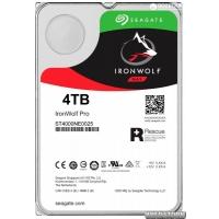 Жесткий диск Seagate IronWolf Pro HDD 4TB 7200rpm 128MB ST4000NE0025 3.5 SATAIII