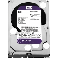 Western Digital Purple 6TB 64MB 5400rpm WD60PURZ 3.5 SATA III