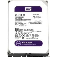 Western Digital Purple 8TB 256MB 5400rpm WD81PURZ 3.5 SATA III