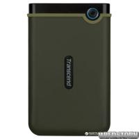 Transcend StoreJet 25M3 1TB TS1TSJ25M3E 2.5 USB 3.0 External Military Green