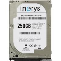 Жесткий диск i.norys 250GB INO-IHDD0250S2-N1-5408 5400rpm 8MB 2.5 SATA II