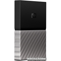 Жесткий диск Western Digital My Passport Ultra 1000GB Black/Grey (WDBTLG0010BGY-WESN)