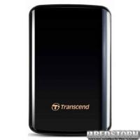 Transcend StoreJet 25D3 1TB TS1TSJ25D3 2.5 USB 3.0 External Black