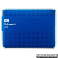 Western Digital My Passport Ultra 500GB WDBWWM5000ABL-EESN 2.5 USB 3.0 External Blue