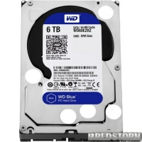 Western Digital Blue 6TB 5400rpm 64MB WD60EZRZ 3.5 SATAIII