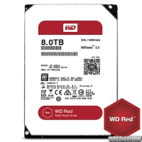 Western Digital Red 8TB 5400rpm 128MB WD80EFZX 3.5 SATA III