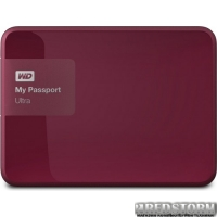 Western Digital My Passport Ultra 3TB WDBBKD0030BBY-EESN 2.5 USB 3.0 External Wild Berry