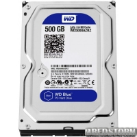 Western Digital Blue 500GB 5400rpm 64МB WD5000AZRZ 3.5 SATA III
