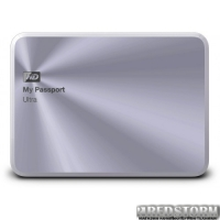 Western Digital My Passport Ultra Metal 1TB WDBTYH0010BSL-EESN 2.5 USB 3.0 External Silver