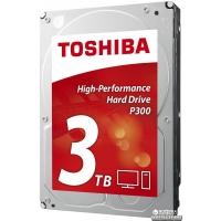 Toshiba P300 3TB 7200rpm 64MB HDWD130UZSVA 3.5 SATA III