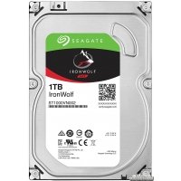 Seagate IronWolf HDD 1TB 5900rpm 64MB ST1000VN002 3.5 SATAIII