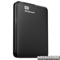 Western Digital Elements 750GB WDBUZG7500ABK-EESN 2.5 USB 3.0 External Black