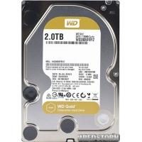 "Western Digital Gold 2TB 7200rpm 128MB WD2005FBYZ 3.5"" SATA III"