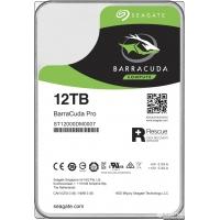 Seagate BarraCuda Pro HDD 12TB 7200rpm 256MB ST12000DM0007 3.5 SATA III