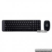Комплект беспроводной Logitech MK220 RUS (920-003169)
