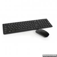 Беспроводная клавиатура с мышкой UKC k06 с адаптером Черный (44719)