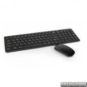 Беспроводный комплект (клавиатура и мышка) WIRELESS K06 Black