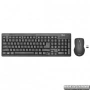 Комплект Trust Ziva wireless keyboard with mouse UKR (22119)