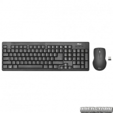 Комплект Trust Ziva wireless keyboard with mouse UKR (22119)