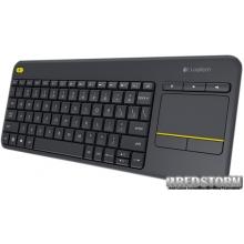 Logitech Wireless Touch Keyboard K400 Plus RUS Black (920-007147)