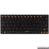 Клавиатура Rapoo E6300 Ultra-slim Bluetooth Black