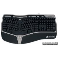 Клавиатура проводная Microsoft Natural Ergonomic 4000 USB (B2M-00020)