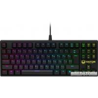 Клавиатура проводная Hator Rockfall TKL USB Optical (HTK-620)