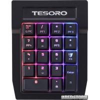 Клавиатура проводная Tesoro Tizona Spectrum Numpad USB (TS-G2SFL-P-BL)