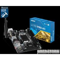 MSI H170I PRO AC (s1151, Intel H170, PCI-E x16)
