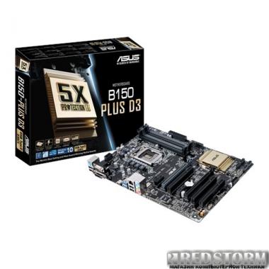 Материнская плата Asus B150-Plus D3 (s1151, Intel B150, PCI-Ex16