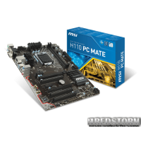 MSI H110 PC Mate (s1151, Intel H110, PCI-Ex16)