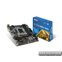 MSI H170M PRO-VDH (s1151, Intel H170, PCI-E x16)