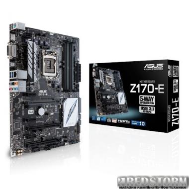 Материнская плата Asus Z170-E (s1151, Intel Z170, PCI-Ex16)