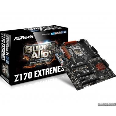 Материнская плата ASRock Z170 Extreme3 (s1151, Intel Z170, PCI-Ex16)